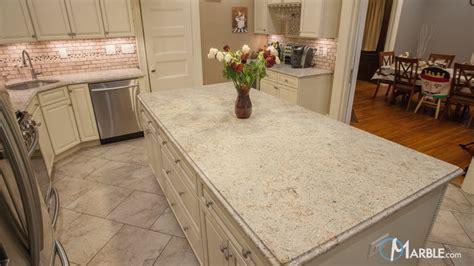 Ivory Fantasy Granite Kitchen Countertop