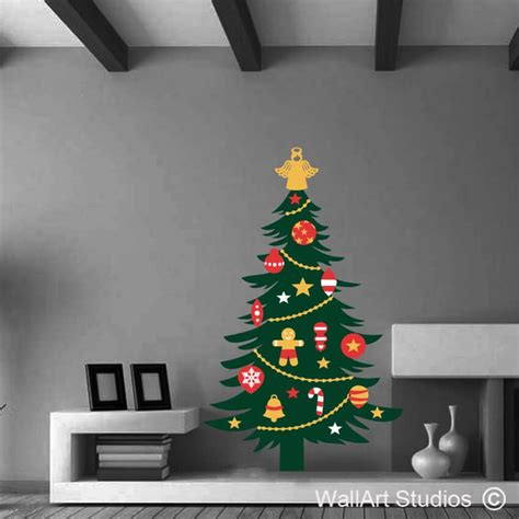 christmas wall glass stickers archives wall art studios