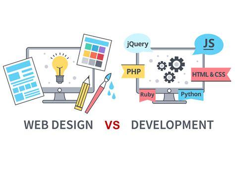 layout design principles web development difference between web design and web development