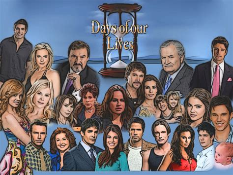 days of our lives the list of characters leaving keeps television shows online tv channels pdf