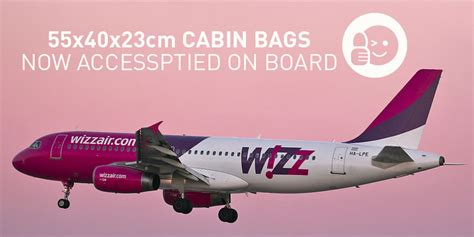 wizz cabin baggage wizz increases baggage allowance