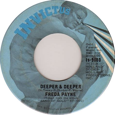 Deeper And Deeper 45cat freda payne deeper and deeper unhooked generation invictus canada is 9080