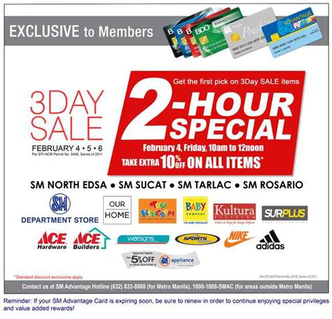 3 Hour Special At Glosscom by Fresh Promos Sm Malls 3 Day Mallwide Sale