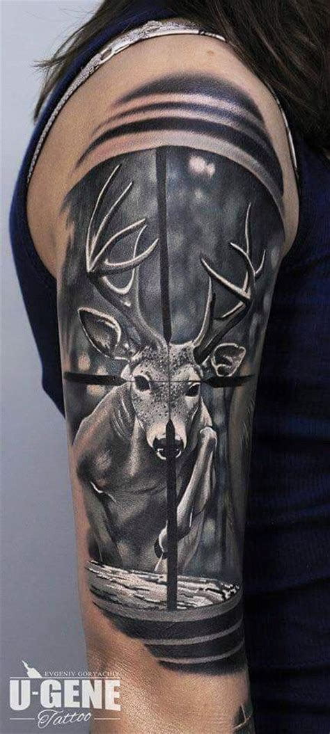 wildlife tattoos for men 25 best ideas about tattoos on deer