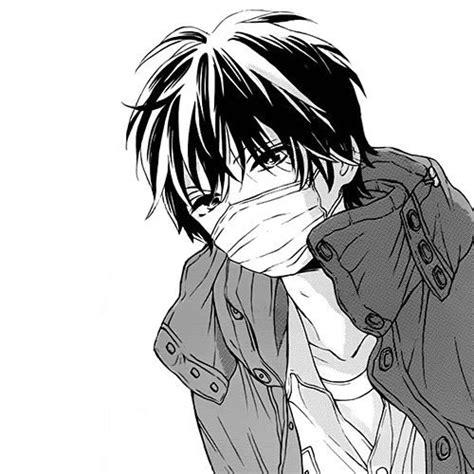 anime boy drowning manga anime b w image 3158340 by