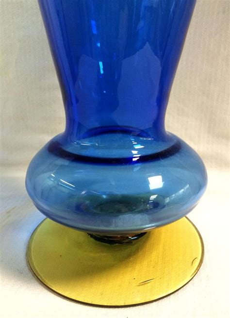 Handmade Glass Vases - blenko handmade glass vase