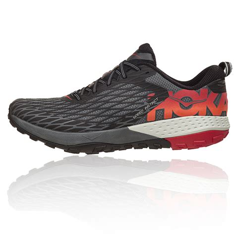 trail running shoes hoka hoka speed instinct trail running shoes 40