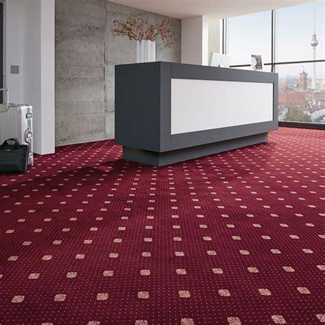 teppich rot gemustert teppichboden meterware vorwerk nordpfeil ascot