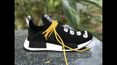 giveaway fear of god x adidas nmd pharrell williams human race black for 2017
