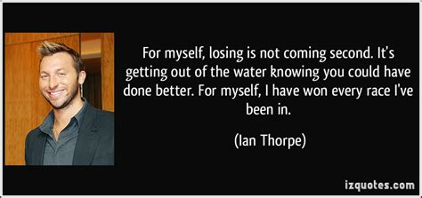 Coming Out Of The Closet Quotes by Quotes By Ian Thorpe Like Success
