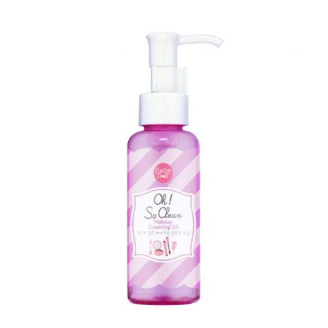Cathy Doll Oh So Clean Make Up Cleansing Diskon cathy doll oh so clean makeup cleansing 100 ml