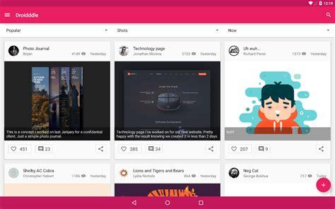 design art app 25 free material design android apps