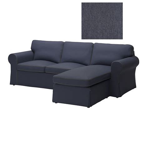 chaise sofa cover ikea ektorp loveseat and chaise slipcover 2 seat sofa w