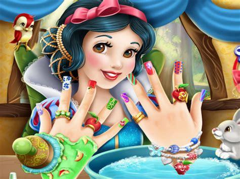spelletjes nagels nagels lakken met sneeuwwitje spelletje spelletjes