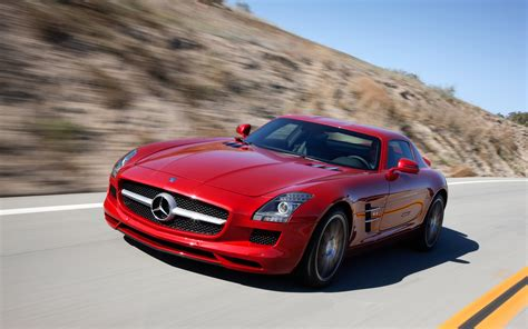 cars mercedes red we hear baby sls amg sports car to debut later this year