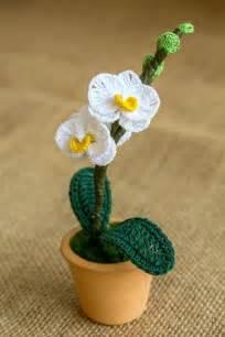 Mini crochet orchid pattern by happy patty crochet mehr