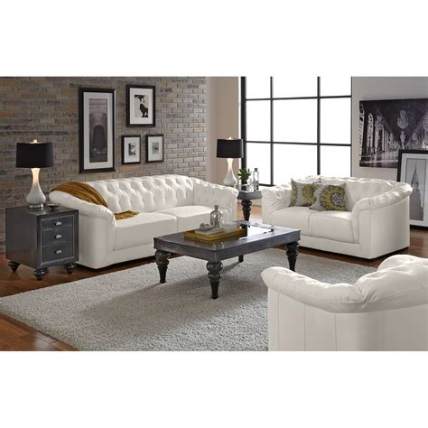 Value City Furniture Living Room Giorgio Leather 2 Pc Living Room Value City Furniture