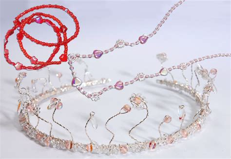 How To Make A Princess Tiara Out Of Paper - princess tiara necklace and bracelet 183 how to make