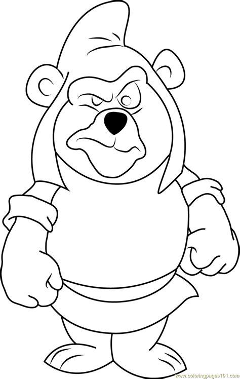 Gumzi Color gruffi gummi coloring page free disney s adventures of