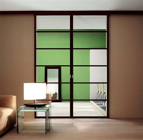 Italian Glass Doors Contemporary Living Room Other Contemporary Interior Doors With Glass