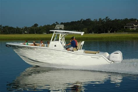 saltwater fishing boats 280cc adventure by tidewater is turning heads in the