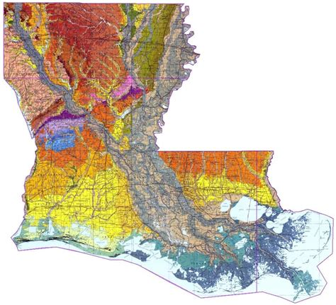 louisiana geologic map geologic map of louisiana