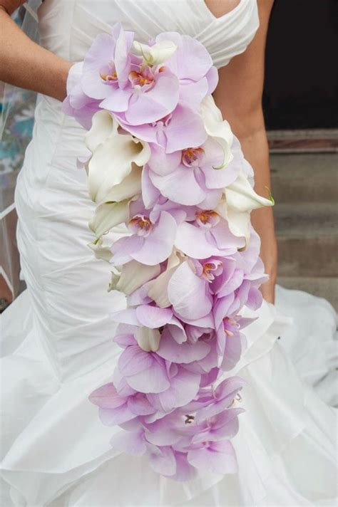 orchid wedding bouquet orchid wedding bouquets in brilliant colors modwedding