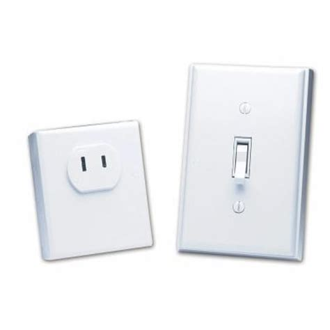 wireless light socket switch home depot heath zenith wireless switch outlet bl 6136 wh the home