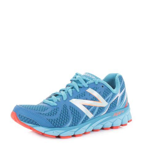 womens new balance 3190 blue orange running