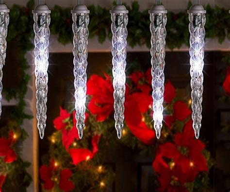 melting icicle lights icicle lights lightshow of shooting decor