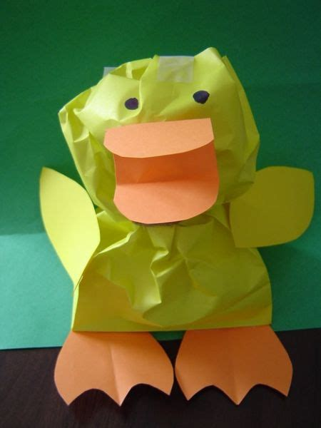 Paper Duck Craft - gitmo nation update easter easter crafts and