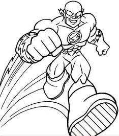 flash coloring pages free coloring pages of flash the avenger