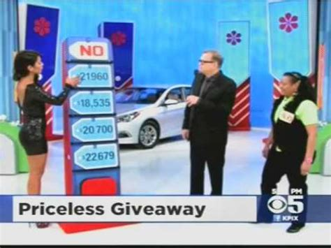 The Price Is Right Sweepstakes - manuela arbelaez price is right model car giveaway by mistake youtube