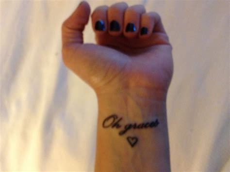 small lyric tattoos small wrist lyrics from quot when the world ends quot by