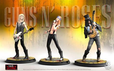 guns n roses figures guns n roses rock iconz statues due this summer