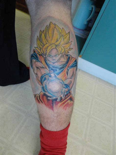 dragon ball z images my leg tattoo hd wallpaper and
