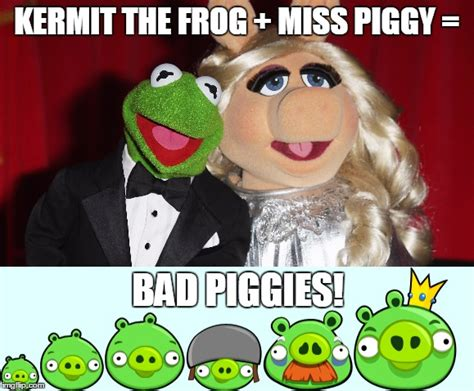 Kermit And Miss Piggy Meme - kermit the frog miss piggy meme