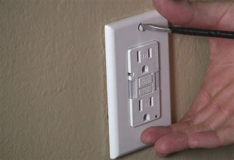 install electrical outlet learn how to safely install a gfci outlet at the home depot