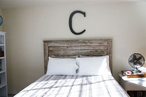 Rustic Headboard Aged Wood Beingbrook A Rustic Headboard