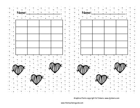 printable incentive charts behavior incentive for february search results