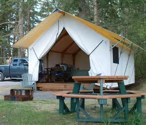 Permanent Tent Cabins by The Canvas Cottage Rainier Yurts
