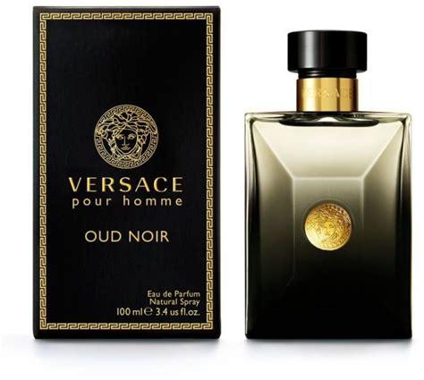 souq versace pour homme oud noir by versace for eau de parfum 100ml uae