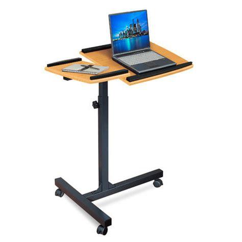 Laptop Desk Walmart Merax Adjustable Laptop Cart Walmart