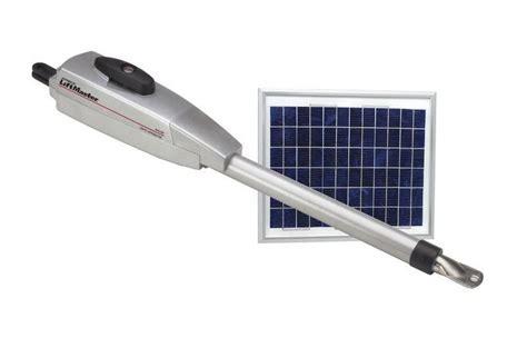 Solar Powered Garage Door Opener Chamberlain La 412 Solar Powered Gate Operator Second Arm