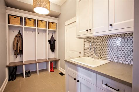 Laundry Mudroom Floor Plans by Mudroom Laundry Room Contemporary Laundry Room Madison