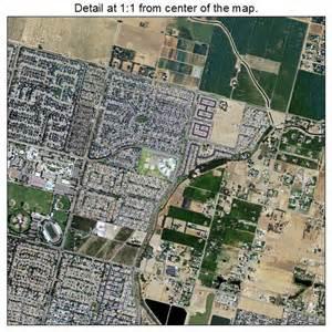 aerial photography map of clovis ca california