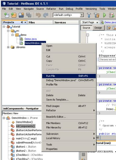 netbeans tutorial for c tutorial using netbeans to create guis for java programs
