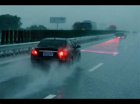 Car Motor Laser Fog Light car laser fog light auto brake parking l warning light