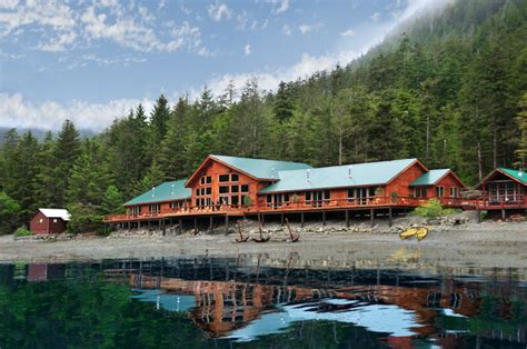 Cabin Style Homes Learn How To Catch A King Salmon At Steamboat Bay