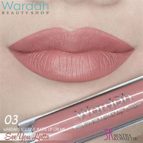 Harga Wardah Exclusive Matte Lip See You Latte info harga make up for aqua agustus 2018